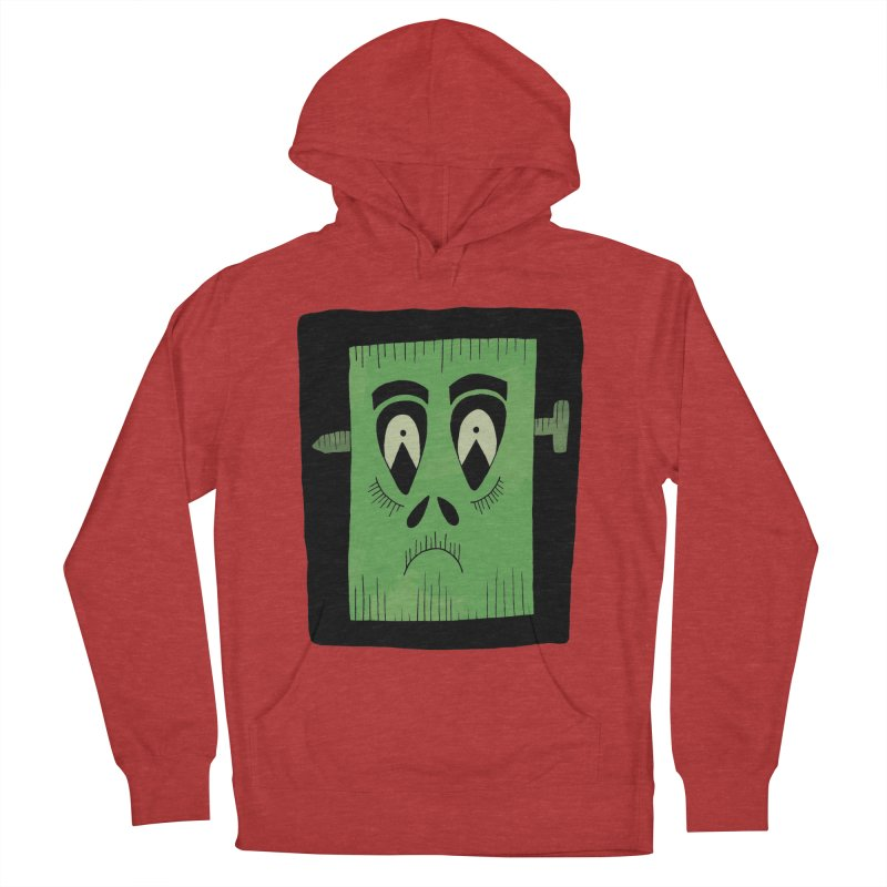 Frankie Men's French Terry Pullover Hoody by Hannah's Artist Shop