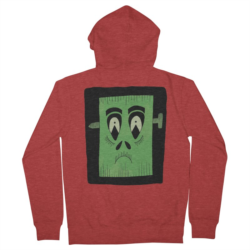 Frankie Men's Zip-Up Hoody by Hannah's Artist Shop