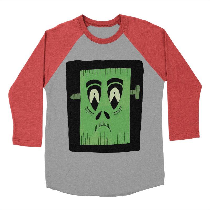 Frankie Women's Baseball Triblend Longsleeve T-Shirt by Hannah's Artist Shop