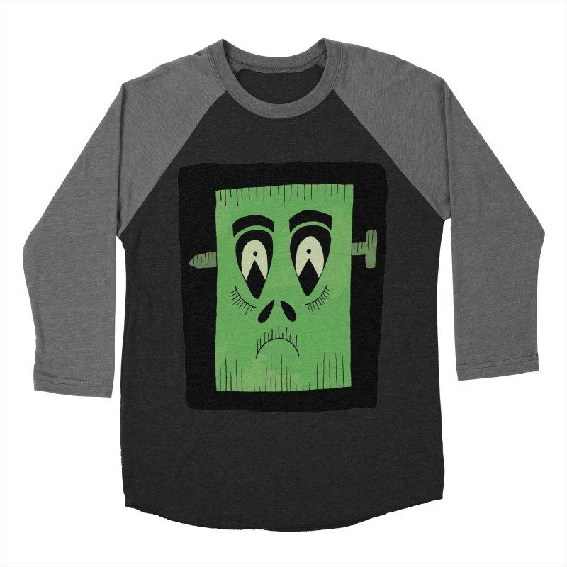 Frankie Men's Baseball Triblend T-Shirt by Hannah's Artist Shop