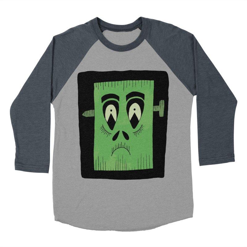 Frankie Men's Baseball Triblend Longsleeve T-Shirt by Hannah's Artist Shop