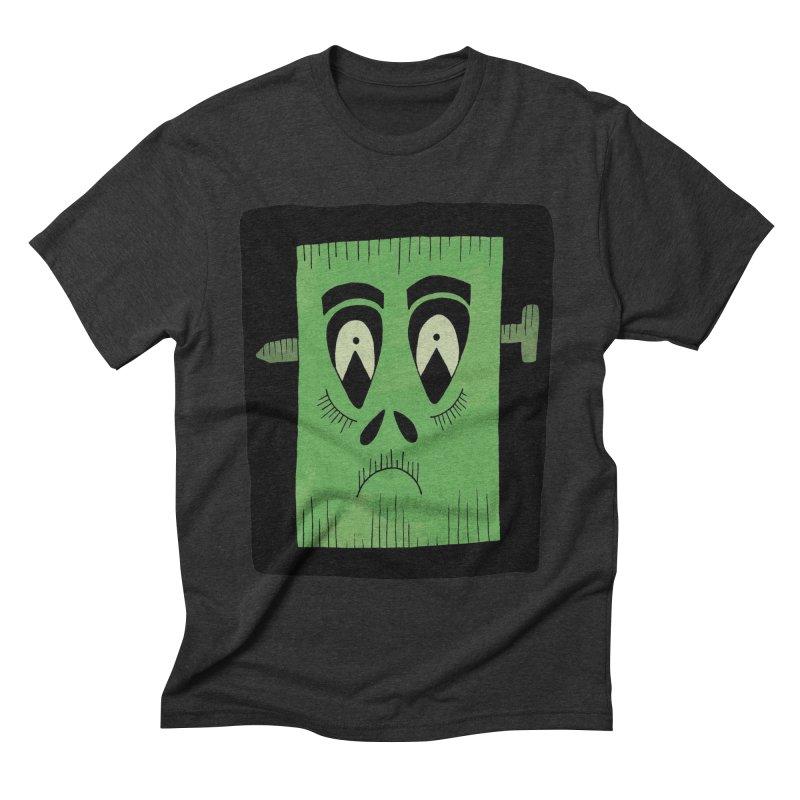 Frankie Men's Triblend T-shirt by Hannah's Artist Shop