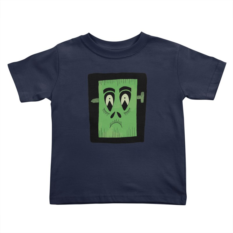 Frankie Kids Toddler T-Shirt by Hannah's Artist Shop