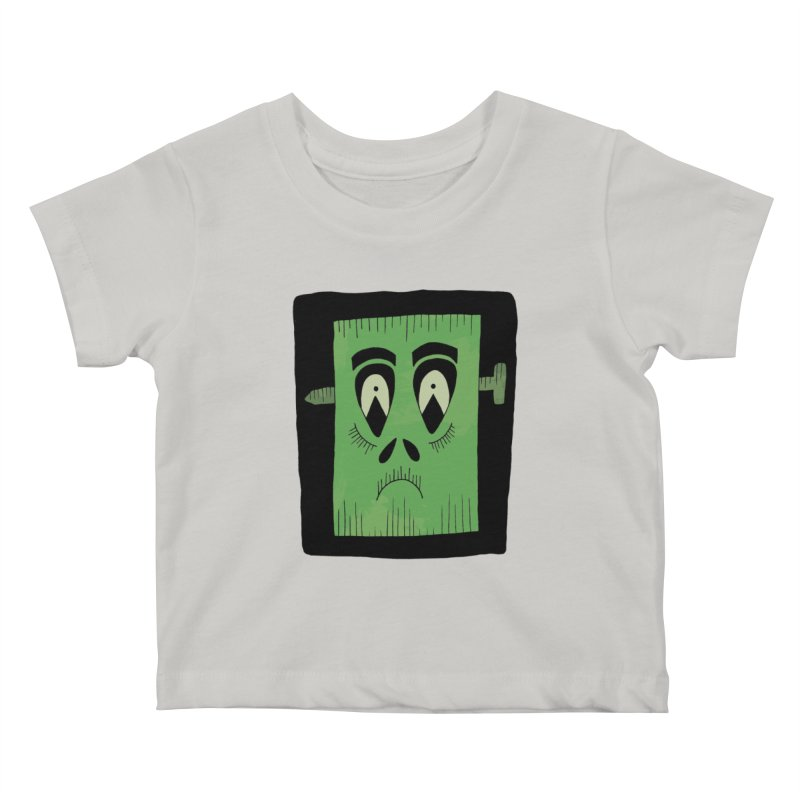 Frankie Kids Baby T-Shirt by Hannah's Artist Shop