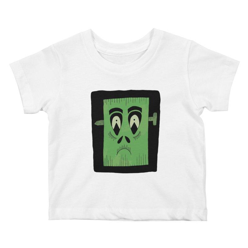 Frankie Kids Baby T-Shirt by Hannah's Artist Shop