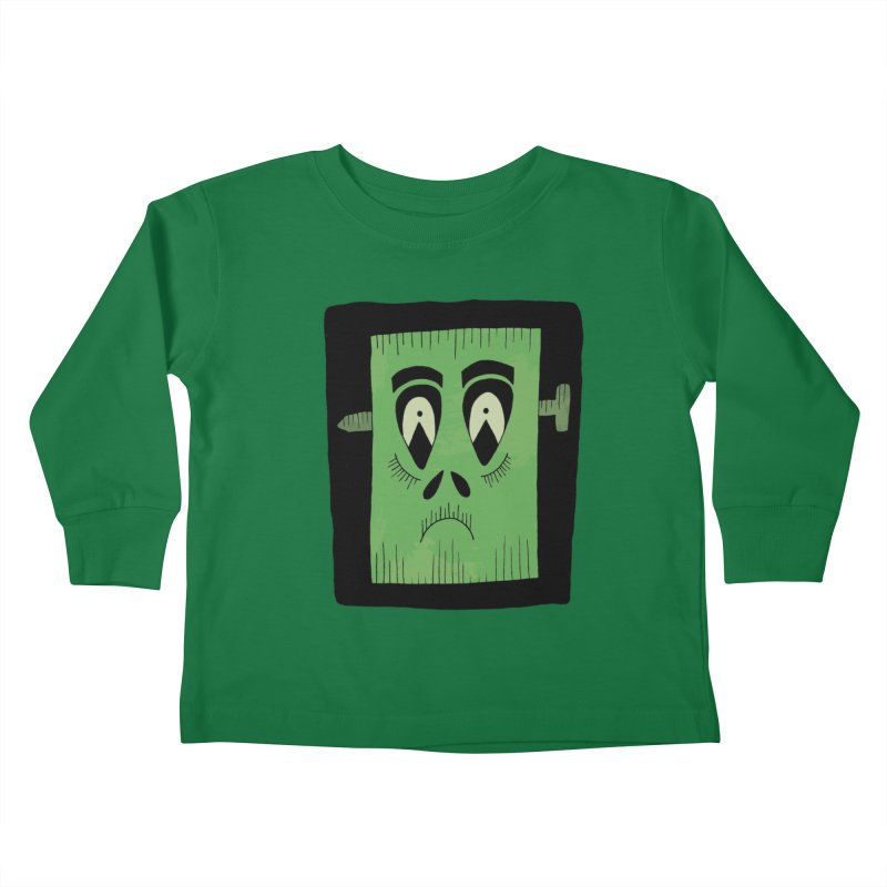 Frankie Kids Toddler Longsleeve T-Shirt by Hannah's Artist Shop