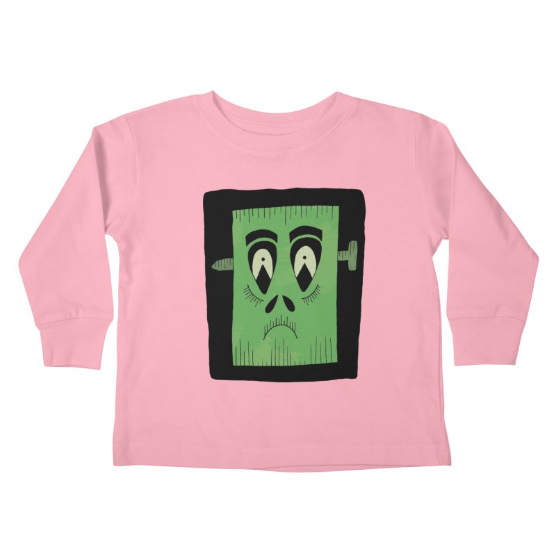 Frankie Kids Toddler Longsleeve T-Shirt by Hannah's Artist Shop