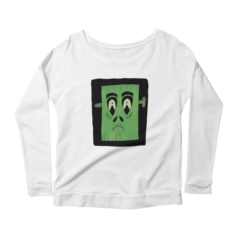 Frankie Women's Scoop Neck Longsleeve T-Shirt by Hannah's Artist Shop