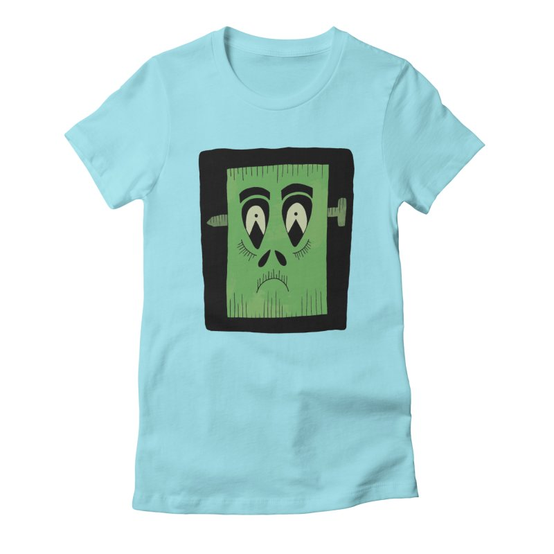 Frankie Women's Fitted T-Shirt by Hannah's Artist Shop