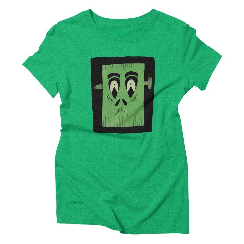 Frankie Women's Triblend T-Shirt by Hannah's Artist Shop