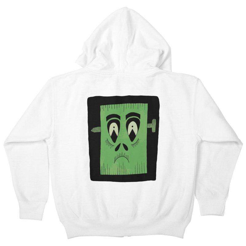Frankie Kids Zip-Up Hoody by Hannah's Artist Shop