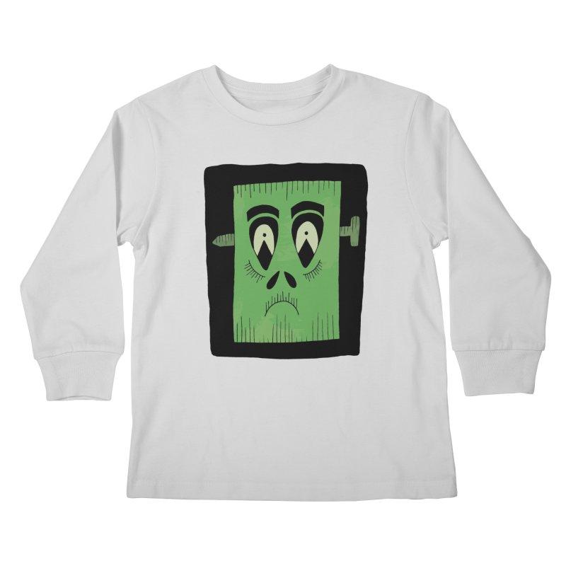 Frankie Kids Longsleeve T-Shirt by Hannah's Artist Shop