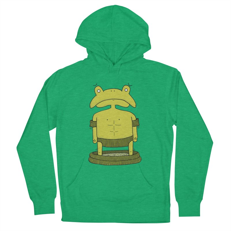 Froggy Women's Pullover Hoody by Hannah's Artist Shop