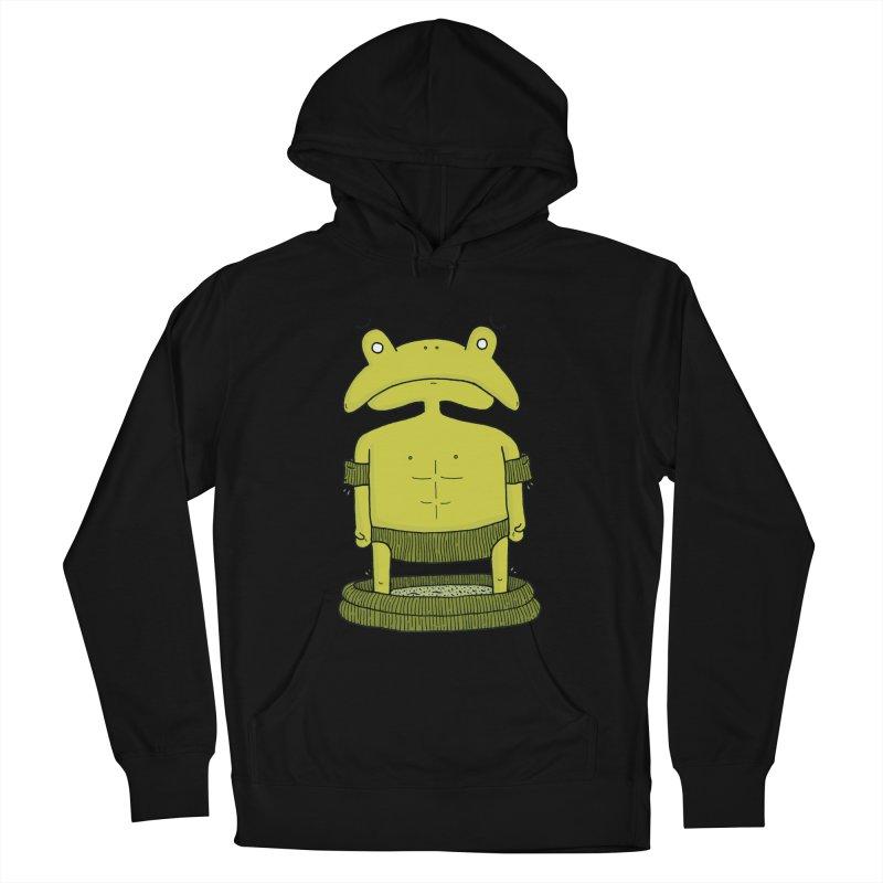 Froggy Women's Pullover Hoody by Hannah's Artist Shop