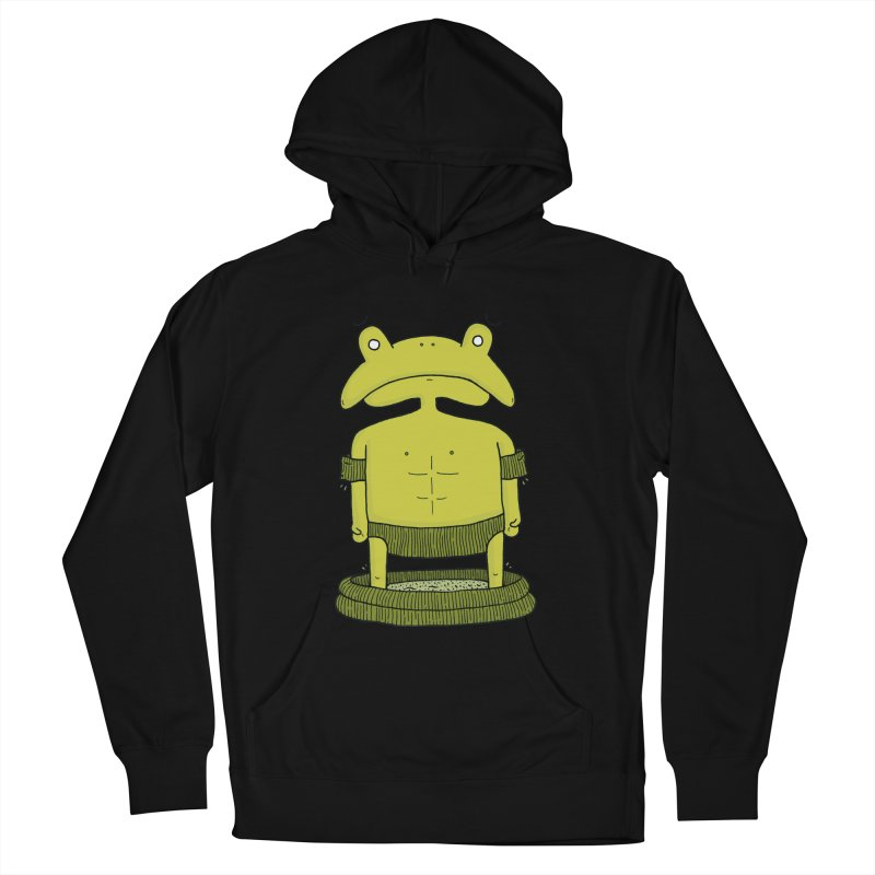 Froggy Men's Pullover Hoody by Hannah's Artist Shop