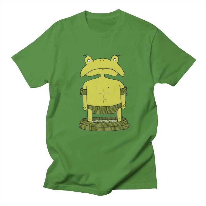 Froggy Men's T-shirt by Hannah's Artist Shop