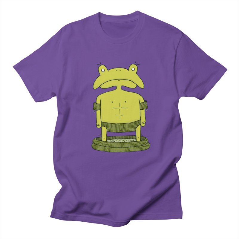Froggy Men's Regular T-Shirt by Hannah's Artist Shop