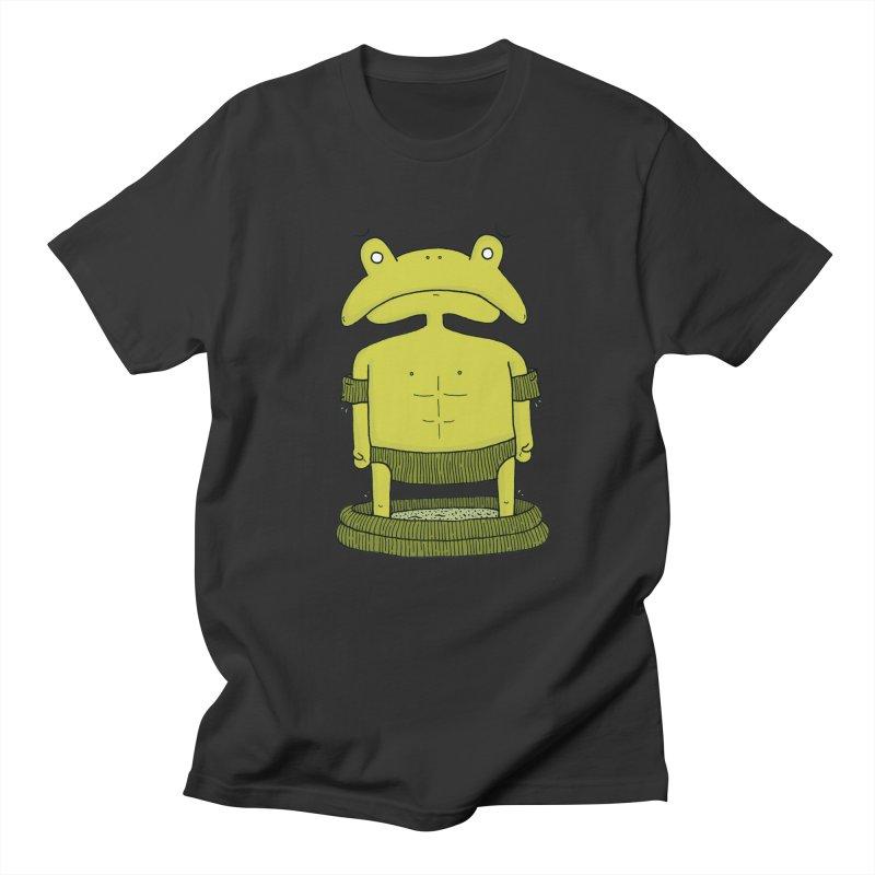 Froggy Men's T-shirt by Hannah's Artist Shop