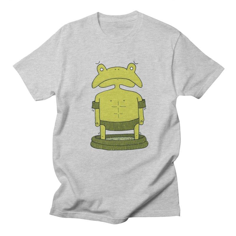 Froggy Men's Regular T-Shirt by Hannah's Artist Shop