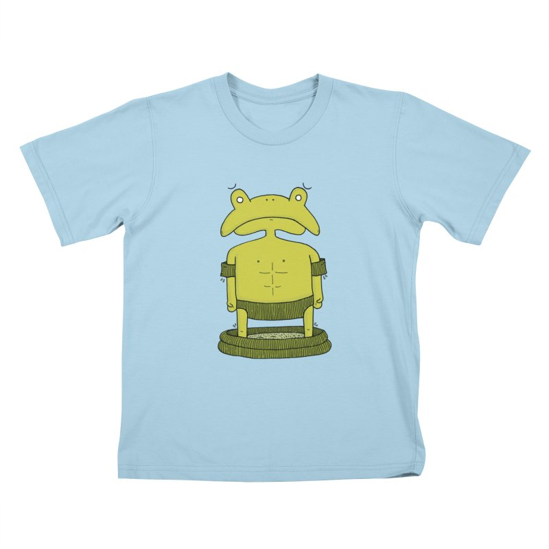 Froggy Kids T-Shirt by Hannah's Artist Shop