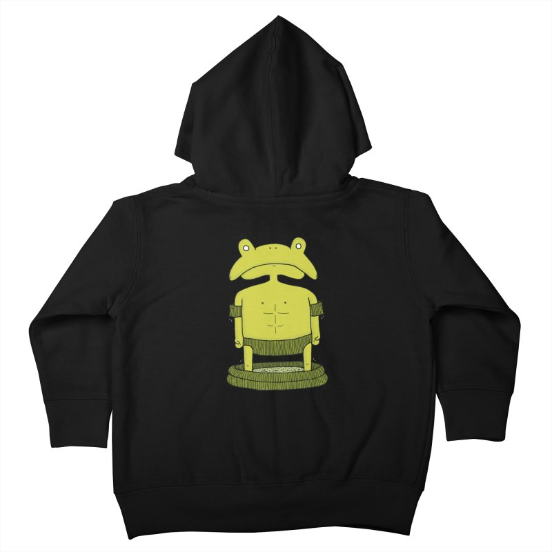 Froggy Kids Toddler Zip-Up Hoody by Hannah's Artist Shop