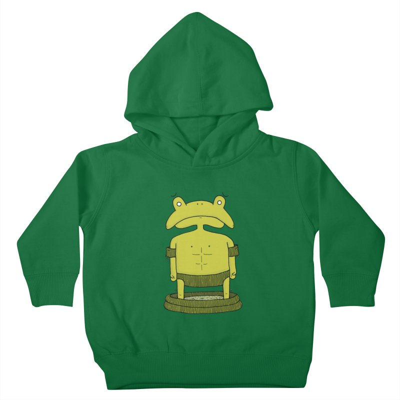 Froggy Kids Toddler Pullover Hoody by Hannah's Artist Shop