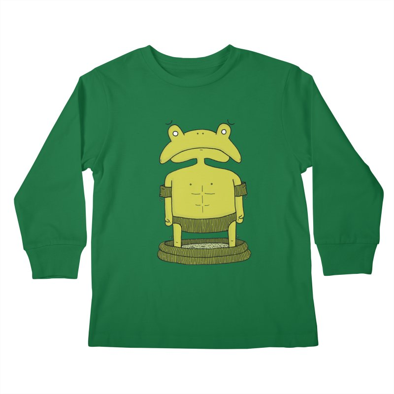 Froggy Kids Longsleeve T-Shirt by Hannah's Artist Shop