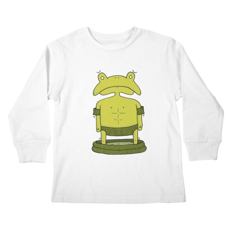 Froggy Kids Longsleeve T-Shirt by Hannah's Artist Shop