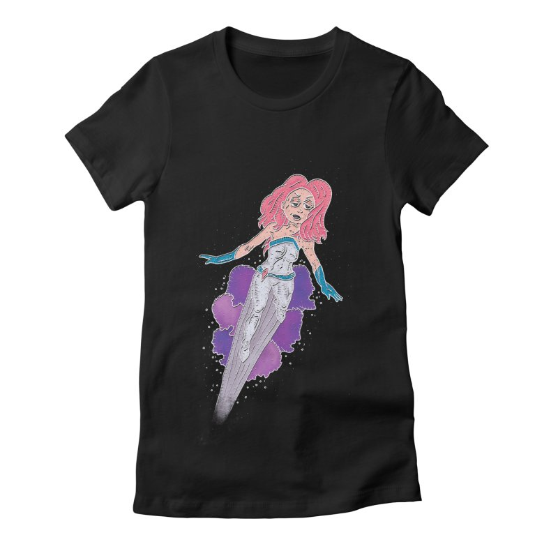 Jessica Jones Beats Killgrave Women's Fitted T-Shirt by Hannah's Artist Shop