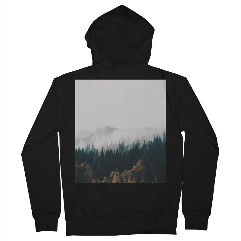 Forest Fog Men's Zip-Up Hoody by hannahkemp's Artist Shop
