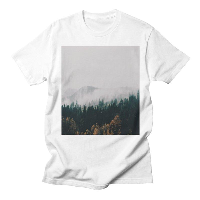 Forest Fog Men's T-Shirt by hannahkemp's Artist Shop
