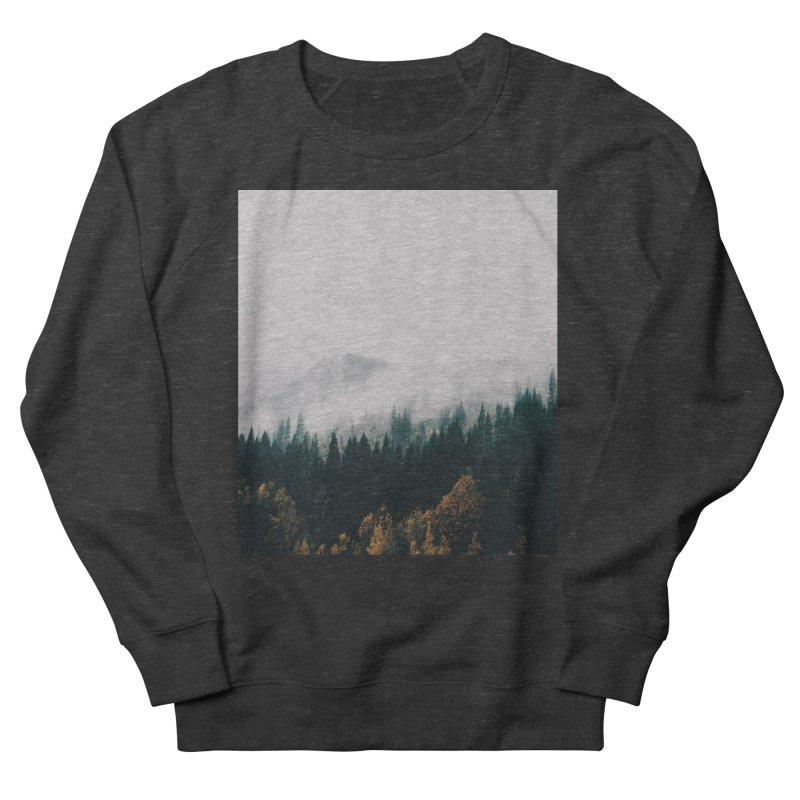 Forest Fog Men's French Terry Sweatshirt by hannahkemp's Artist Shop