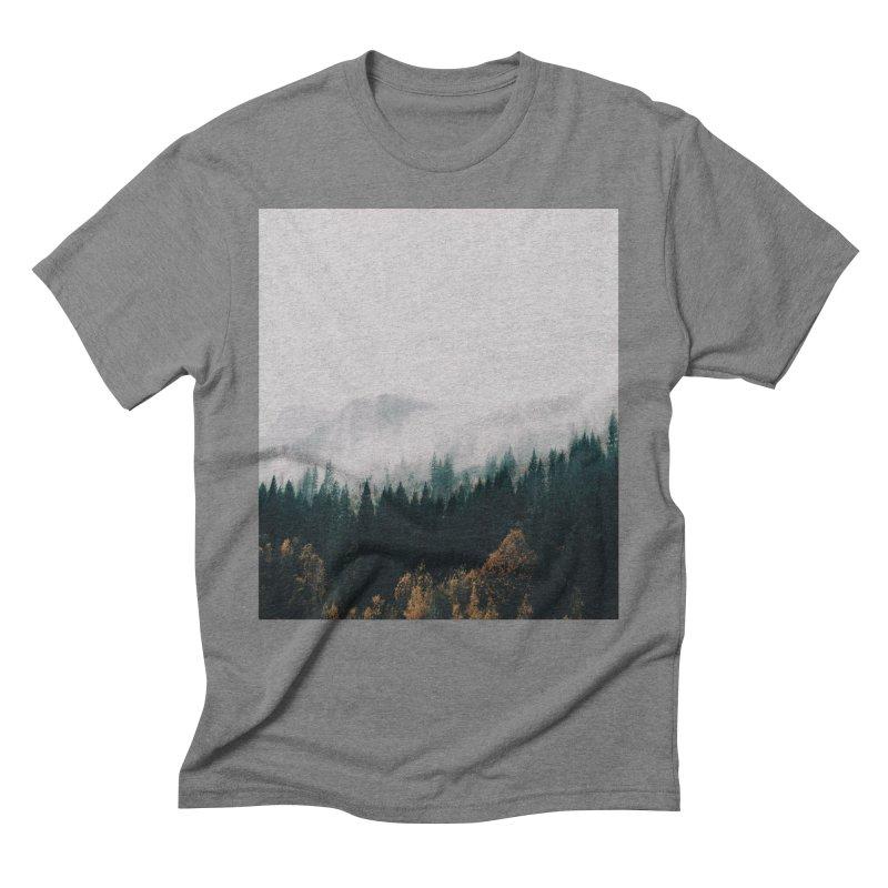 Forest Fog Men's Triblend T-Shirt by hannahkemp's Artist Shop