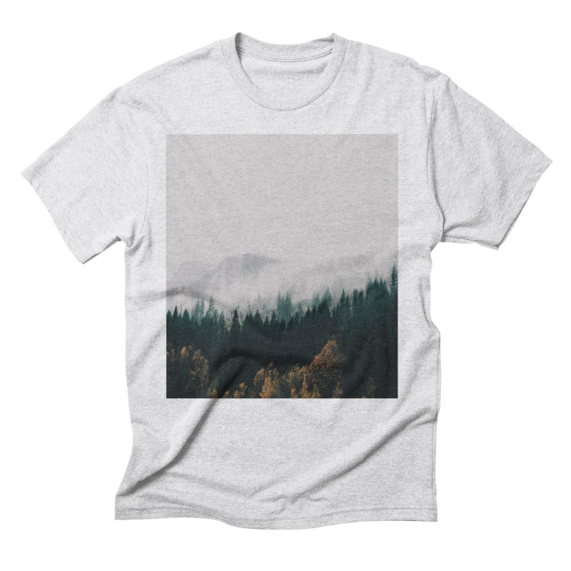 Forest Fog Men's Triblend T-Shirt by hannahkemp's Artist Shop