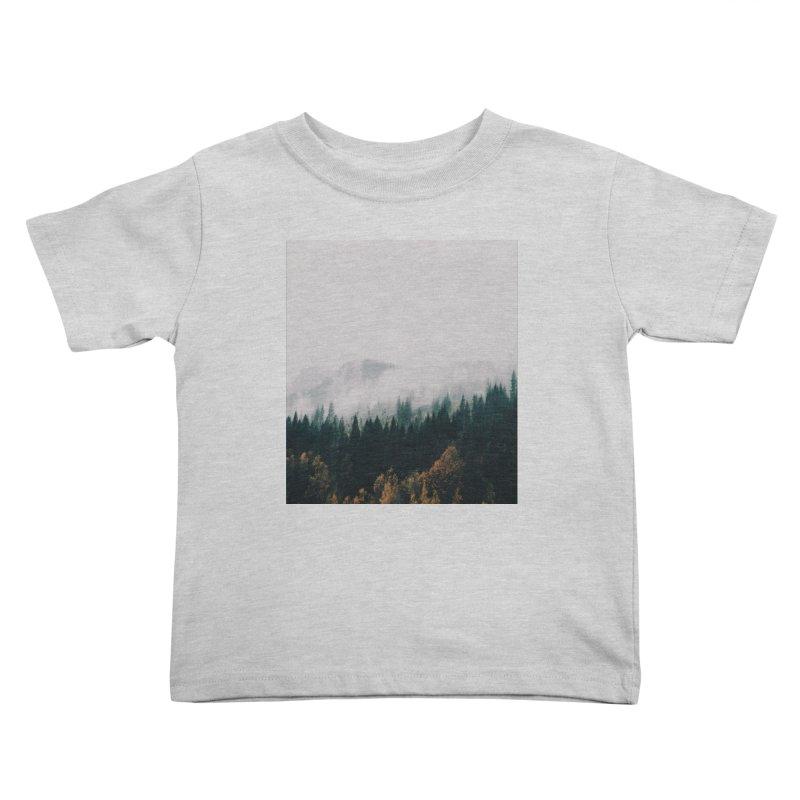 Forest Fog Kids Toddler T-Shirt by hannahkemp's Artist Shop