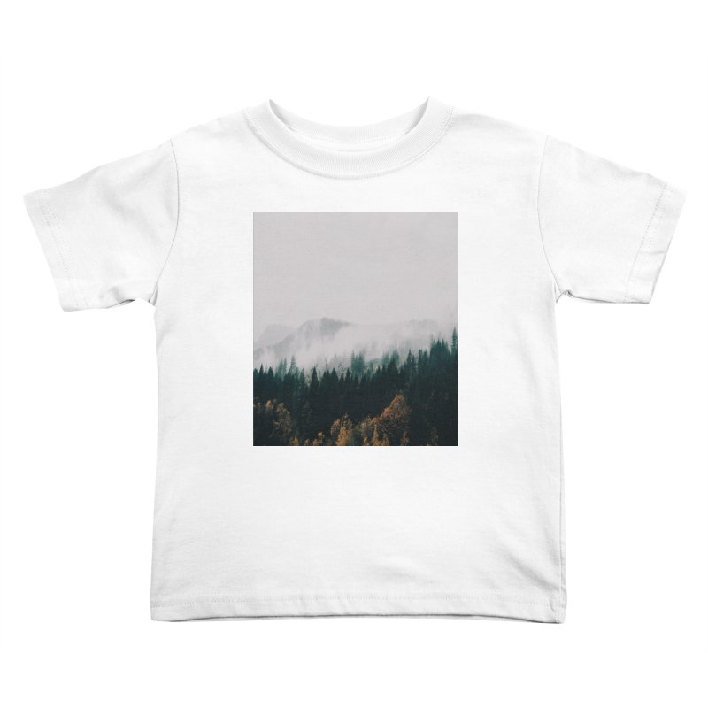 Forest Fog Kids Toddler T-Shirt by hannahkemp's Artist Shop