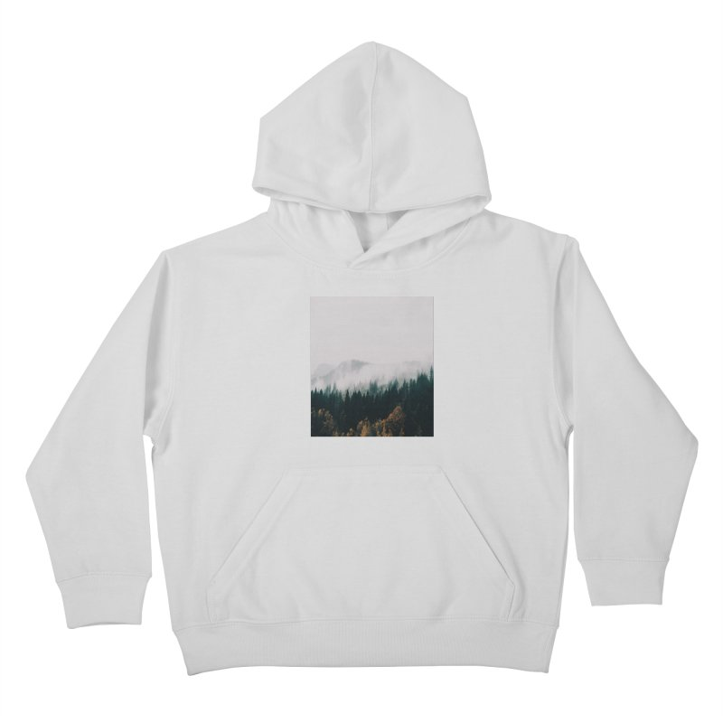 Forest Fog Kids Pullover Hoody by hannahkemp's Artist Shop