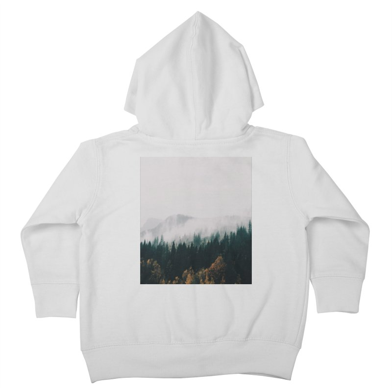 Forest Fog Kids Toddler Zip-Up Hoody by hannahkemp's Artist Shop