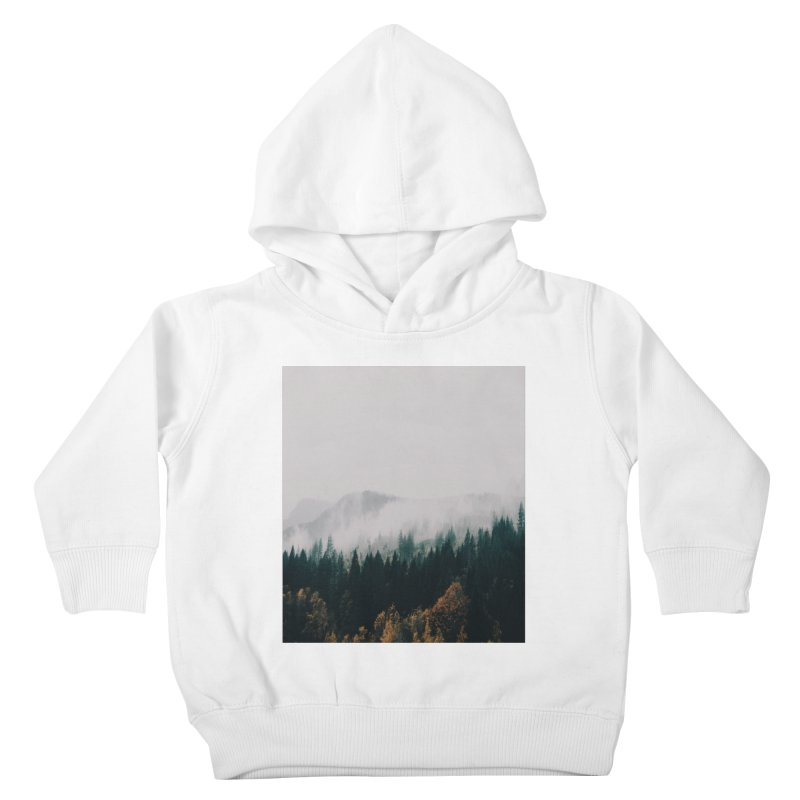 Forest Fog Kids Toddler Pullover Hoody by hannahkemp's Artist Shop