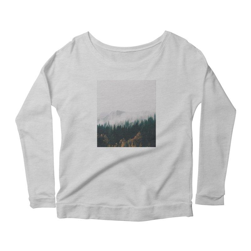 Forest Fog Women's Longsleeve T-Shirt by hannahkemp's Artist Shop