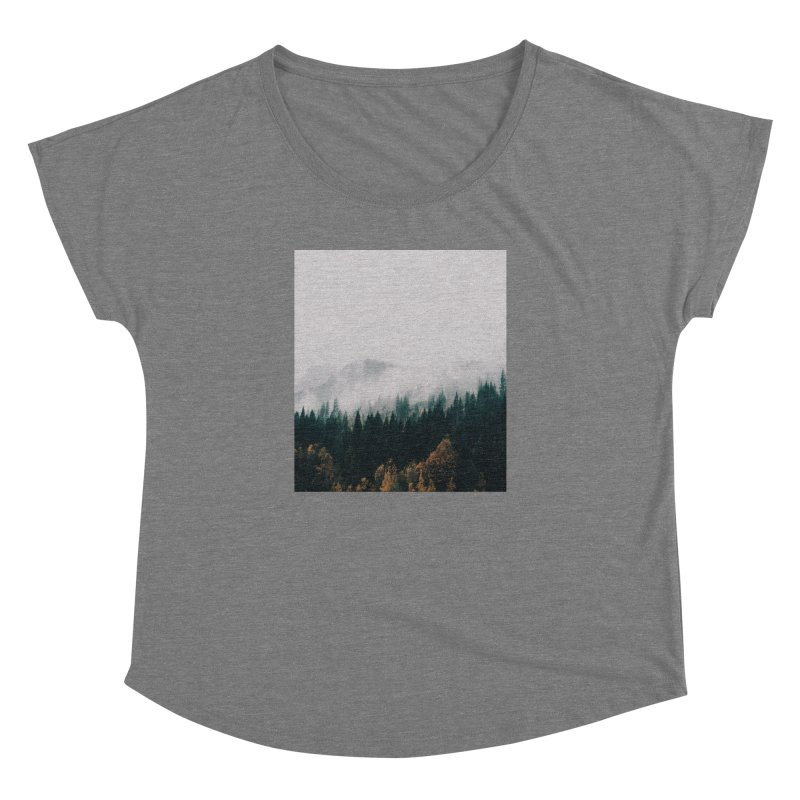 Forest Fog Women's Dolman by hannahkemp's Artist Shop