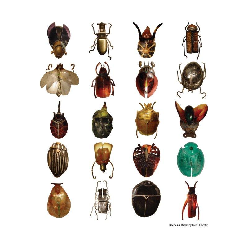 Beetles Accessories Bag by Hanzsek Design's Artist Shop