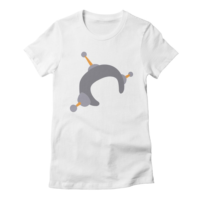 Speechless Women's Fitted T-Shirt by hapi.js