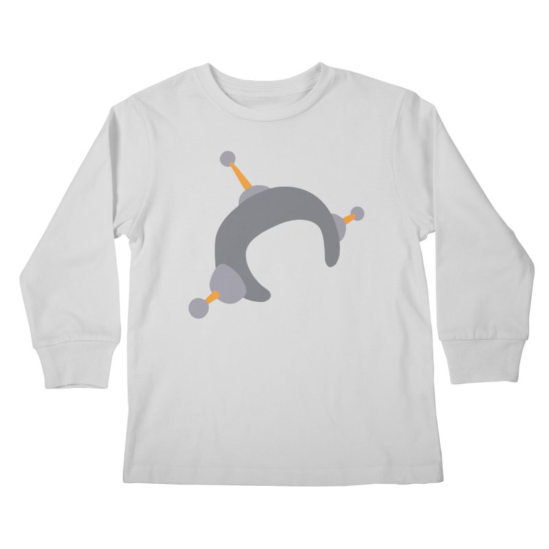 Speechless Kids Longsleeve T-Shirt by hapi.js