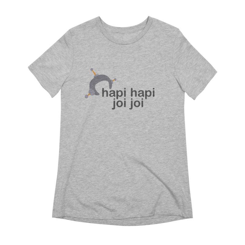 hapi hapi joi joi (Light) Women's Extra Soft T-Shirt by hapi.js