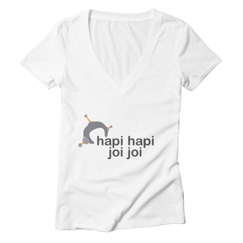 hapi hapi joi joi (Light) Women's Deep V-Neck V-Neck by hapi.js