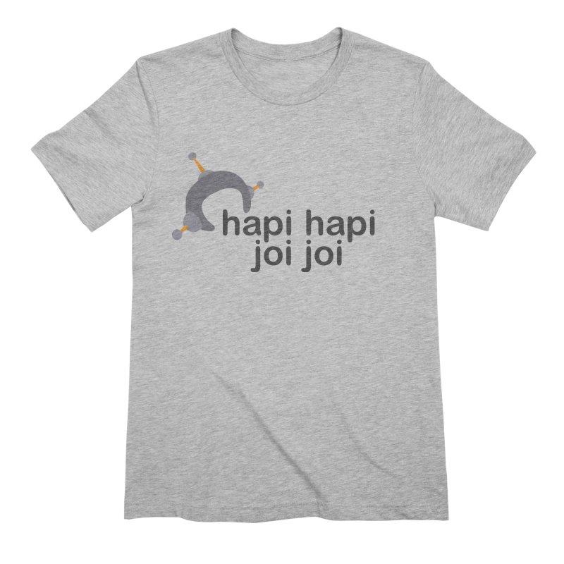 hapi hapi joi joi (Light) Men's Extra Soft T-Shirt by hapi.js