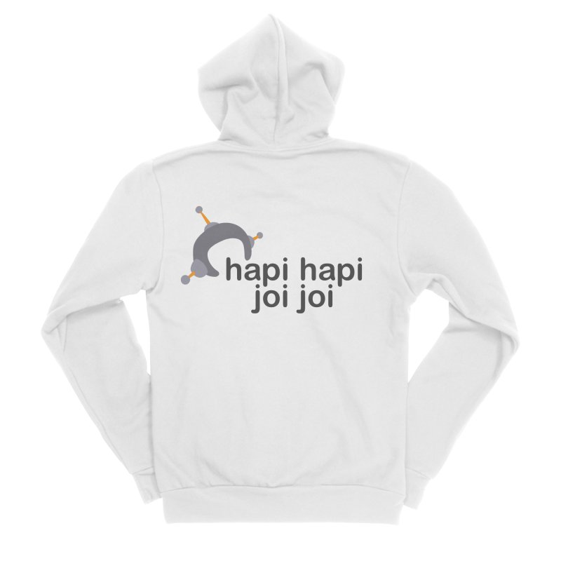 hapi hapi joi joi (Light) Women's Sponge Fleece Zip-Up Hoody by hapi.js