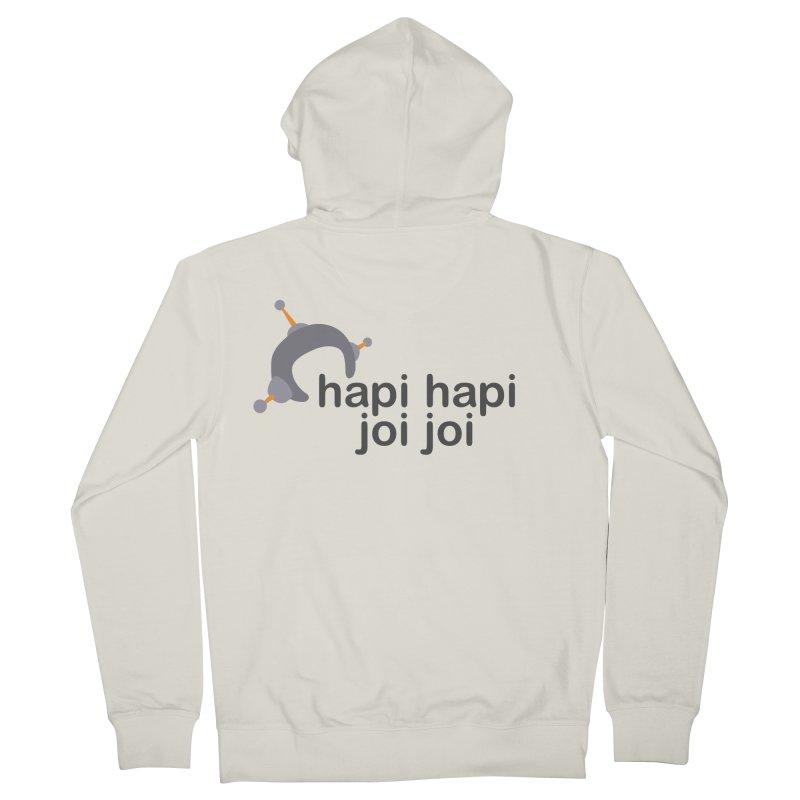 hapi hapi joi joi (Light) Men's Zip-Up Hoody by hapi.js