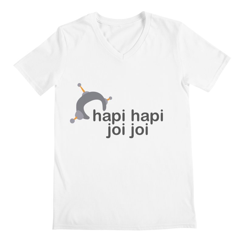hapi hapi joi joi (Light) Men's Regular V-Neck by hapi.js